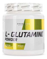 Аминокислота L-Glutamine powder 500g  Progress Nutrition