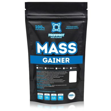 "Гейнер ""MASS GAINER "" PROFIPROT 1кг"